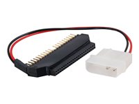 C2G Laptop Hard Drive Adapter - IDE/EIDE-adapter - 44 pin IDC (hona) till 40 pin IDC, 4 pin intern effekt (hane) 81836