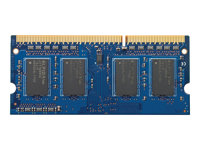 HP - DDR3L - 4 GB - SO DIMM 204-pin - 1600 MHz / PC3-12800 - 1.35 V - ej buffrad - icke ECC - för HP 250 G5 (DDR3); EliteBook 745 G3, 755 G3, 840 G1; ProBook 430 G3 (DDR3), 440 G3 (DDR3) H6Y75AA#AC3