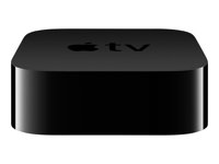 Apple TV 4K - Gen. 5 - digital multimediemottagare - 4K - 60 fps - HDR - 64 GB MP7P2HY/A
